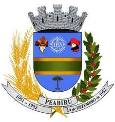 Peabiru (Paraná) Coat of Army - Brazil