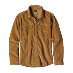M's Long-Sleeved Workwear Shirt, Oaks Brown (OKSB)