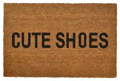 How cute is this playful doormat?!
