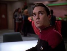 Wesley Crusher Dwight Schultz, Wesley Crusher, Star Trek 4, Jonathan Frakes, Prime Directive, Wil Wheaton, Journey's End, Sci Fi Tv, One Star