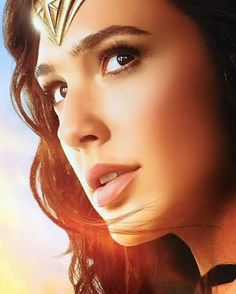Gal gadot as Wonder Woman (2017).