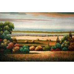 Real Handmade Landscape Oil painting Landscape Art, Landscape Paintings, Oil Paintings, Handmade, Hand Made, Landscape, Oil On Canvas, Landscape Drawings, Paisajes