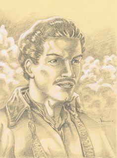 Lando Calrissian by NJValente.deviantart.com on @DeviantArt