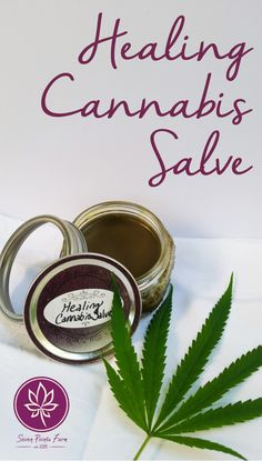 Easy recipe for pain, inflammation, and all-purpose healing cannabis salve.