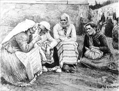 Albert Edelfelt / Women of Ruokolahti on the Church Hill / sketch Finland, Culture, Sketch, Painting, Art, Women, Sketch Drawing, Art Background, Women's