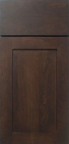 The Plainfield Shaker style cabinet door style has clean, simple styling that is perfect for any room in the house.