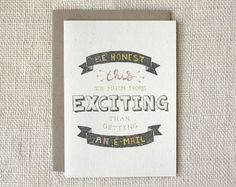 Any Occasion Card - Better than an E-mail