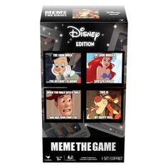 Cardinal The Disney Meme Game, Multicolor, One Size The hilarious Meme the game now has a Disney theme Match image cards with word cards. Disney Jokes, Funny Disney Memes, Best Funny Jokes, Crazy Funny Memes, Funny Texts, Hilarious, Funniest Memes, Stupid Jokes, Memes Humor