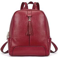 Enjoy exclusive for BOSTANTEN Women Backpack Geniune leather Fashion Designer backpacks Women online - Nanaclothing Designer Backpack Purse, Designer Backpacks, Handbags On Sale, Luxury Handbags, Cheap Fashion Jewelry, Girls Bags, Leather Backpack, Leather Bag, Leather Fashion