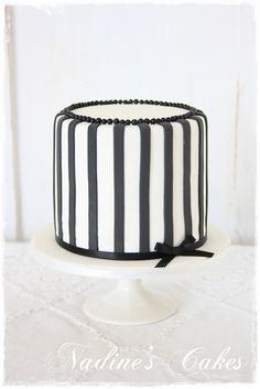 this would be cute for for a fashionista friend's bridal shower or bachelorette.  cake by nadine's cakes.