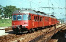 Swiss Railways, Bahn, Coaches, Transportation, Electric, Travel, Trains, Parking Lot, Trainers