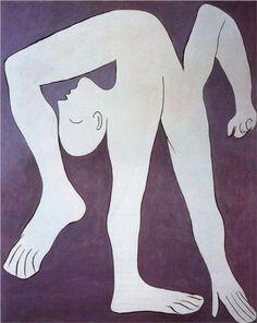 acrobat. picasso 1930