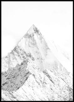 White mountain, affiche
