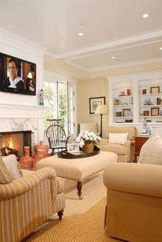 Family room Lerner traditional family room home