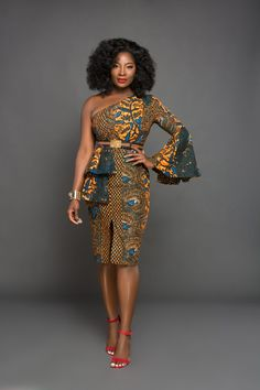The complete pictures of latest ankara short gown styles of 2018 you've been searching for. These short ankara gown styles of 2018 are beautiful Trendy Ankara Styles, Ankara Dress Styles, African Print Dresses, African Fashion Dresses, African Dress, African Outfits, African Clothes, Kente Styles, Ankara Fashion