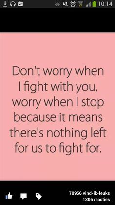 True quote fight friendship love