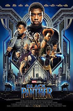 """Posters USA - Marvel Black Panther Movie Poster GLOSSY FINISH - FIL688 (24"""" x 36"""" (61cm x 91.5cm)) #Posters #Marvel #Black #Panther #Movie #Poster #GLOSSY #FINISH #.cm))"""