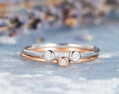 HANDMADE RINGS & BRIDAL SETS by MoissaniteRings on Etsy Bridal Ring Sets, Handmade Rings, Gold Rings, Wedding Rings, Unique Jewelry, Rose Gold, Engagement Rings, Diamond, Gifts