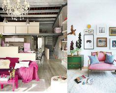 Vibrante e festivo, o pink não passa despercebido. Intenso e estimulante, essa cor, uma das tendências de 2017, traz mais vida a qualquer ambiente. Aposte em um só móvel – como um sofá ou uma poltrona – e explore tons diferentes ao redor: na parede e no mobiliário, use tons clássicos como branco, bege, cinza, nude ou preto. Há quem prefira investir nos adornos: pufe, almofada, tapete e xale podem ter essa tonalidade, assim como um quadro. Vai ficar incrível!  #decoração #decoracao…