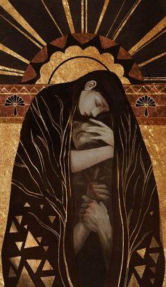 Illustration by Qissus Half Elf, Wow Art, Art Design, Oeuvre D'art, Dark Art, Art Inspo, Art Reference, Fantasy Art, Art Drawings