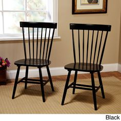 Simple Living Venice Dining Chairs (Set of 2)   Overstock.com Shopping - The Best Deals on Dining Chairs