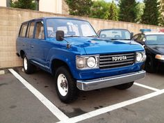 FJ60  前期型・丸目ライト  フェンダーミラー Land Cruiser, Toyota, Vehicles, Projects, Hot Rods, Log Projects, Vehicle