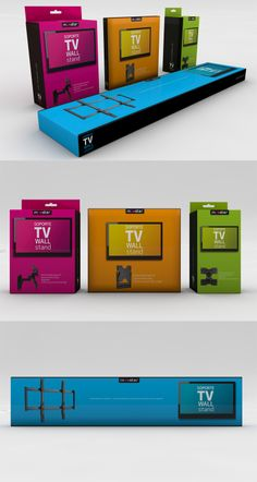 Packaging Mooster TV Wall Stands PD