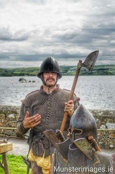 Irish soldier 16th Century