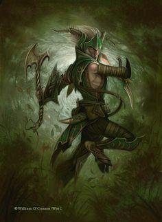 Fauno guerrero, de William O'Connor
