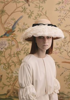 The Wedding, Couture Hat by Prudence Millinery for Lock Couture SS2018 Collection