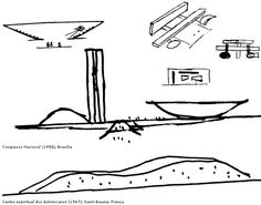009dc2807c11 niemeyer. Oscar NiemeyerCroquisModern ArchitectureBrazilArchitectureSketchesFashion  Figures