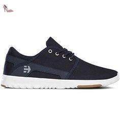 Scout Yb, Chaussures de Skateboard Homme, Rouge (Black/Grey/Red), 37 EU (4 UK)Etnies