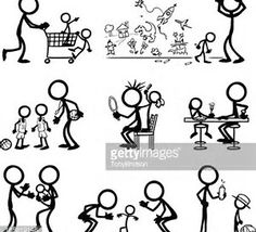Image result for mommy and baby stick figures