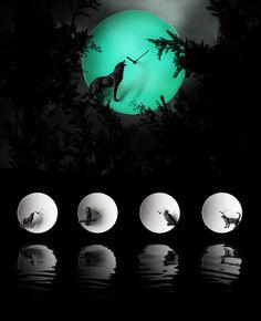 Moon Clock by Haoshi Design for Haoshi Design - Free Shipping