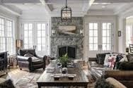 1000 images about fireplace with glass door windows for French doors with windows either side