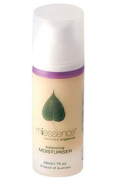 Miessence Balancing Moisturizer (normal/combination skin). $53.05
