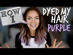 THUMBS UP if you like the purple hair!!! AHHH Follow my Twitter! ‪http://www.twitter.com/ClaudiaSulewski‬ Watch my last video: http://youtu.be/w5OmbNfzZ8g ∙•...