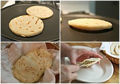 How to make gorditas Gorditas Recipe And, as per your request, gorditas recipe! Seriously, I even begin to write about gorditas without starting to salivate! These delicious small and thick corn tortillas that we call gorditas, that have a pocket Mexican Cooking, Mexican Food Recipes, Gorditas Recipe Mexican, Sopes Recipe, Mexican Sopes, Mexican Slaw, Mexican Easy, Mexican Tamales, Ceviche Recipe