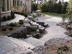 Walkways - Stamped Concrete Inc.