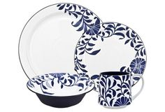 4-Pc Malmo Bloom Place Setting