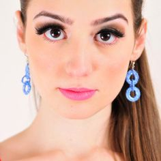 Neke Recycled Earring Blue now featured on Fab.