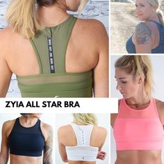 The Zyia All Star bra is your new favorite sports bra. Hands down.