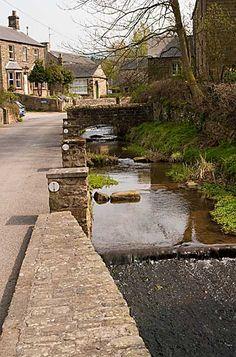 Beeley Village in Derbyshire, England