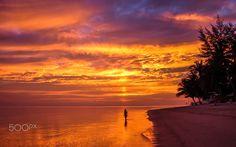 Lady sunset - @Thong sala beach ,Koh pha ngan