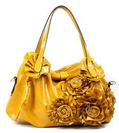 Kate Rose Pedal Shoulder Bag, Glossy Yellow Shop123go-Handbag,http://www.amazon.com/dp/B007A4AG4O/ref=cm_sw_r_pi_dp_pcGwrb0CM0VYEQA8
