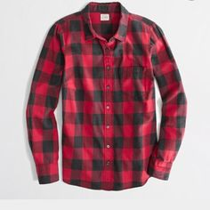 1989c7a6d8fb8 Factory classic button-down shirt in flannel - washed shirts -  FactoryWomen s Shirts   Tops - J.