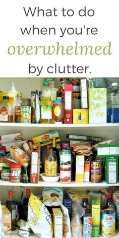 The emotional toll of clutter can overwhelm you! Learn how to control the clutter in your life! Kitchen Cupboard Organization, Clutter Organization, Organizing Tips, Organization Ideas, Emotional Clutter, Clutter Solutions, Clutter Control, Declutter Your Life, D House