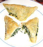 Blätterteig-Spinat-Schafskäse Taschen