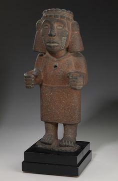 .Chalchiuhtlicue  Artist Unknown (Mexica (Aztec)) (Mexico, Central America), 1200-1521