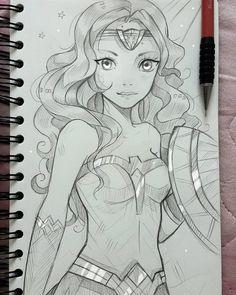 +Wonder Woman+ by larienne.deviantart.com on @DeviantArt